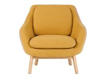 Oslo Accent Chair, Yolk Yellow