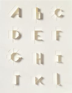 Typographic folds
