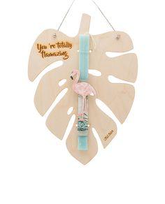 Λαμπάδα – Dreamcatcher Necklace – My Lifelikes Flamingo, Dream Catcher Necklace, Easter Crafts, Candles, Christmas Ornaments, Holiday Decor, Handmade, Gifts, Diy