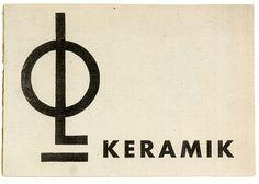 Bauhaus – Otto Lindig, Keramik / Pottery. (Katalog der lieferbaren Keramiken). Dornburg,  (1930).