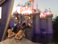 The Babies dreams really have come true! #disneyland #MickeyMouse #princessforaday #rollercoaster #thisistheplace