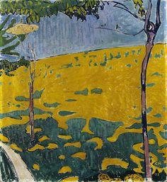 Cuno Amiet (1868–1961), Dandelion Meadow, 1903, private collection.