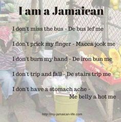 Only a true Jamaican Jamaican Quotes, Jamaican Meme, Jamaican Slang, Jamaican Art, Jamaica Travel, Jamaica Jamaica, Barbados, Jamaica Reggae, Jamaican Proverbs