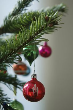 littlenestbox blog | vintage Christmas tree