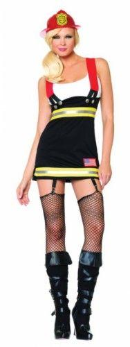 Backdraft Babe Sexy Fireman Costume - Medium | UA83626MD