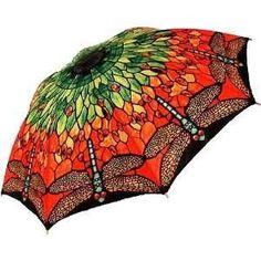 beautiful dragonfly umbrella