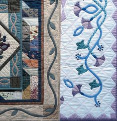Narrow Celtic-style vines are a favorite and beautiful element of hand or machine applique. The steps in this tutorial demonstrate a sl...