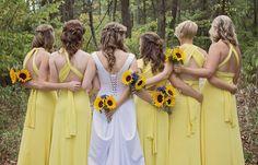 David's Bridal bride
