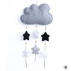 Móviles hechos a mano para días lluviosos #fundasbcn #feathers #rain #cover #instadecor #decoration #babyroom #grey #babyshop #musthave #star #goodnight #clouds #hangingmobiles #cute #lovely #babypresent #strollercover #fundasillapaseo #cotton #babyfashion #awesome #babiesroom #handmade