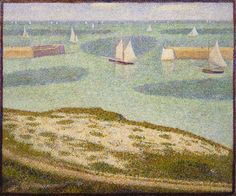 """Port-en-Bessin, Entrance to the Harbor (1888) 
