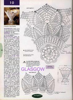 tapetes de crochet con volantes | TRICO y CROCHET-madona-mía: Decoración a crochet con padrón