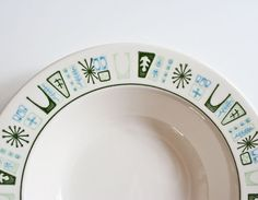 Vintage Mid Century Modern Atomic Cathay Bowls by kibster on Etsy, $20.00