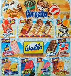 My Dad would only buy us Sparkles as they were 10p. Unless it was an extra special occasion, then we were allowed a Cornetto! Walls ice cream #80s
