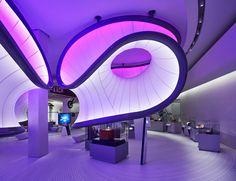 Zaha Hadid Architects' mathematics gallery at London Science Museum
