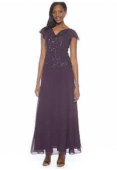 ba5f23f6866bc JKARA Cowl Neck Sequin Dress. Of course only 2 left  (