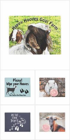 Goat Welcome Doormats #Christmas #Goats #welcome