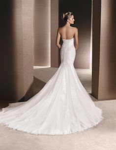 RIALTO - Mermaid wedding dress, with sweetheart neckline | La Sposa