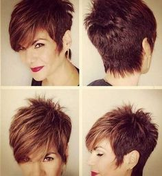 Long Pixie Cuts | I really like the neckline on this cut. The top in back is too short for me.