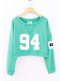 Find More Hoodies & Sweatshirts Information about 2016 fashion women's exo spring autumn number printed cropped sweatshirts kpop short hoodies mint green white sudadera mujer,High Quality fashion card,China hoodie bulk Suppliers, Cheap hoodie sweatshirts for women from China boutique shops 1 shop on Aliexpress.com