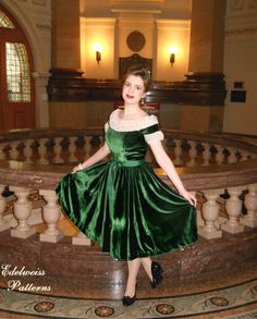 green velour skirt - Google Search