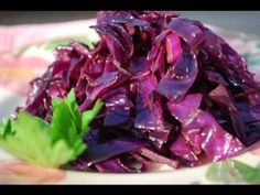 Basic Balsamic Red Cabbage