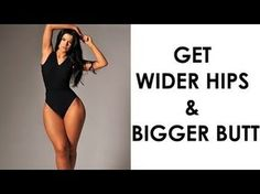 How To Get Bigger Hips and Buttocks   4 Workouts For CURVY Hips and Booty! - YouTube