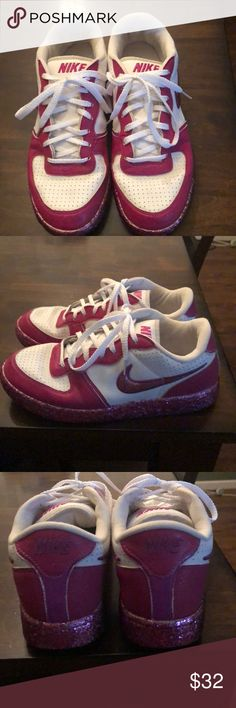 Women s size 9 glitter Nike Air Max sneakers! Excellent new condition  women s size 9 homemade glitter Nike s! Super cute and comfy d082ebe36bad