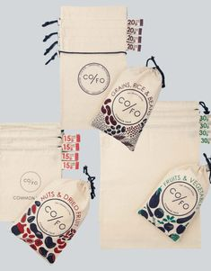 Common Folk, las bolsas 100% orgánicas de algodón que reemplazan los envases de plástico | Bcn Cool Hunter Produït a Barcelona