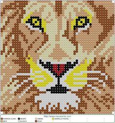 Double Knitting Patterns, Modern Cross Stitch Patterns, Cross Stitch Charts, Hama Beads Patterns, Beading Patterns, Hama Art, Mochila Crochet, Pix Art, Cross Stitch Animals