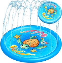 Swimming Pool Toys, Kid Pool, Baby Swimming, Water Toys, Water Play, Pool Water, Kids Sprinkler, Water Sprinkler, Preschool Activities At Home
