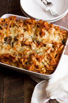 Freezer-Friendly Veggie Pasta Bake