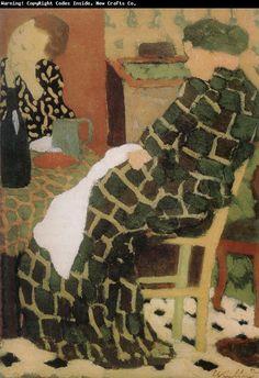 1.IV-18 pg. 238 Mère et fille à table oil on wood