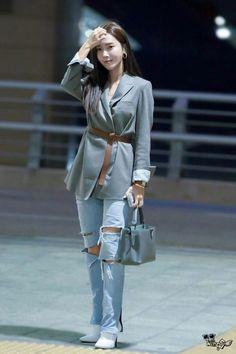 Korea Fashion, Pop Fashion, Asian Fashion, Daily Fashion, Girl Fashion, Womens Fashion, Fashion Design, Winter Fashion, Jessica Jung Fashion