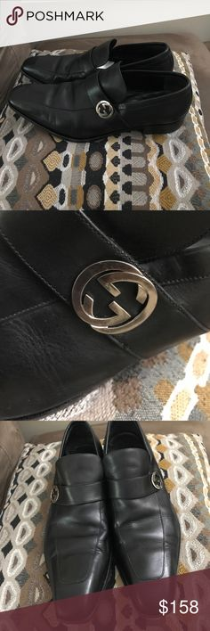 Gucci, men's shoes Used good condition, please see pictures for condition Gucci Shoes Loafers & Slip-Ons