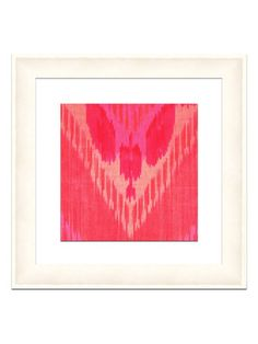Ikat Pinks by Soicher Marin on Gilt Home