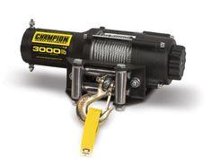 ATV Winches - Champion Power Equipment 13004 Power Winch Kit - 3000 lb. Capacity