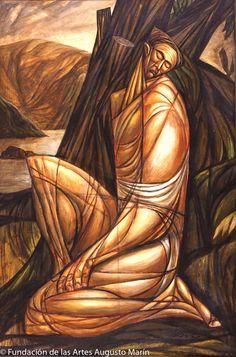 Obra de Augusto Marín, uno de nuestros pintores del Siglo XX.