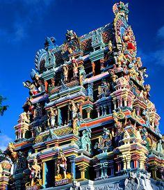 Mauritius - Hindu Temple, Grand Baie