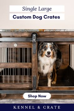 Looking for the perfect pet gift? Kennel and Crate make incredible hand-crafted kennels in all shapes and sizes. Plastic Dog Kennels, Luxury Dog Kennels, Tattoos For Dog Lovers, Dog Lover Quotes, Happy Birthday Dog, Dog Furniture, Dog Rooms, Crate Training, Dog Crate