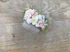 DeniMar / Kvetinový hrebienok do vlasov Brooch, Rings, Floral, Flowers, Jewelry, Jewlery, Jewerly, Brooches, Ring
