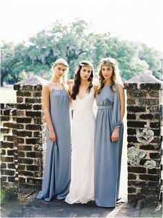 Kate McDonald gowns for the bridesmaids | Perry Vaile Blog Fine Art Film Wedding Photographer Charleston Savannah » Fine Art Wedding Photography North Carolina » page 2