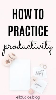 How to stay productive and organized. Do you struggle with productivity? Here are some of my favorite tips that help keep me on top of my tasks and productive throughout the day! Self Development, Personal Development, Entrepreneur, Productivity Quotes, Increase Productivity, Productive Things To Do, Time Management Skills, Planning Your Day, Startup