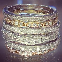 Diamond stacks