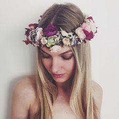 20 Gorgeous Flower Crowns Your Pinterest Board Needs Now - Cosmopolitan.com