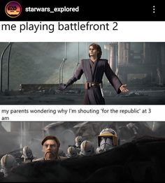 Star Wars Puns, Star Wars Humor, Star Wars Clone Wars, Star Wars Art, Star Wars Characters Pictures, Star Wars Pictures, Star Wars Images, Funny Gaming Memes, Gamer Humor
