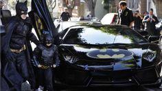 San Francisco: Drei Jahre lang kämpfte der fünfjährige Miles gegen Krebs. Jetzt nimmt er es als « #Batkid» auch noch mit #Bösewichtern auf. Sein größter Wunsch, ein #Superheld zu sein, ging in San Francisco in Erfüllung. (Foto:Make-A-Wish/PaulSakuma.com)