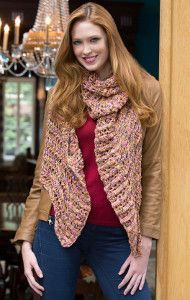 Learn how to knit a scarf and add a bit of French flair to your wardrobe with the Souffle Wrap. This easy knit scarf pattern produces a gorgeous scarf just as light and fluffy as its namesake.