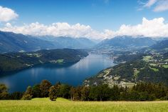 Millstatt is an Austrian town on the edge of the clear blue Millstatter See Lake. Visit Austria, Austria Travel, The Places Youll Go, Places To See, Travel Around The World, Around The Worlds, Graz Austria, Carinthia, Heart Of Europe