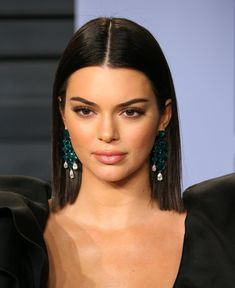 Kendall Jenner Short Hair Pics A password will be e-mailed to you.The styles that Kendall Jenner launched are very short hairdos. It is the perfect deal. Kendall is really Half Updo Hairstyles, Prom Hairstyles For Short Hair, Lob Hairstyle, Short Hair Updo, Sleek Hairstyles, Celebrity Hairstyles, Straight Hairstyles, Wavy Hair, Kendall Jenner Style
