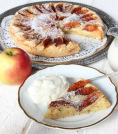 Danish Dessert, Pie Dessert, Swedish Recipes, Sweet Recipes, Cookie Cake Pie, Food Cakes, Everyday Food, No Bake Desserts, Cookie Recipes